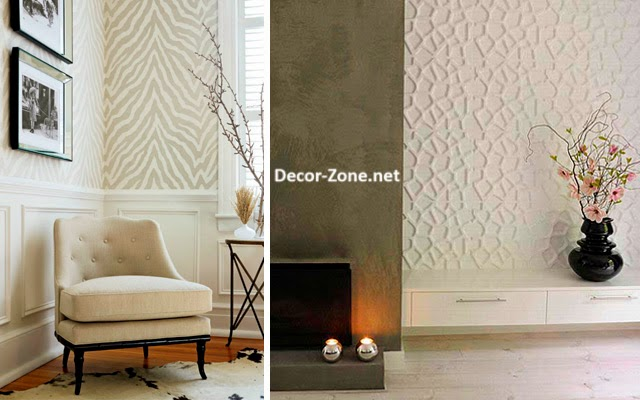 Living room wallpaper 15 ideas and designs for inspiration for 3d room design website