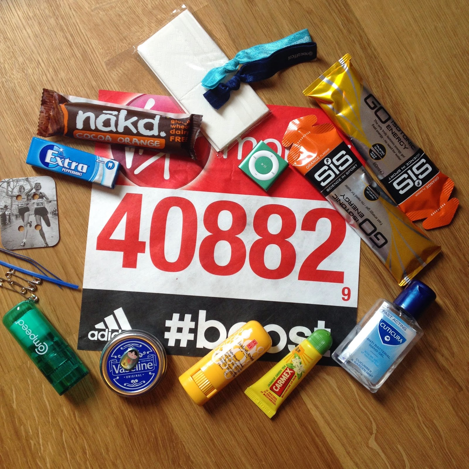 what to pack for a marathon