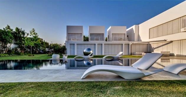 Casa Cubos Arquitectura Minimalista Nestor Sandbank Israel