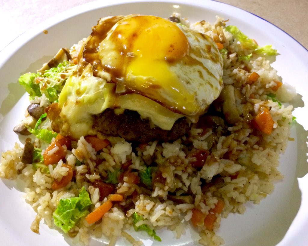 how to add egg in fried rice