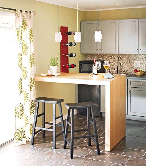 Барная стойка на кухне своими руками 930