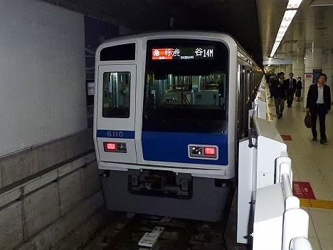 東京メトロ副都心線 急行 渋谷行き5 西武6000系系