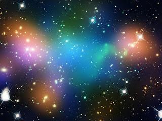 Темная материя в скоплении Abell 520