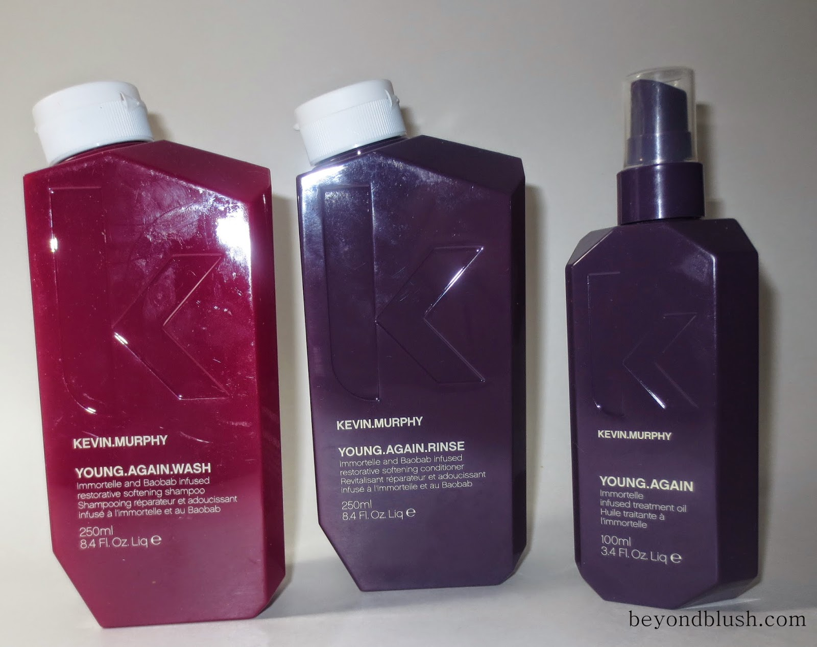 KEVIN.MURPHY Young.Again Wash, Rinse, & Immortelle Infused Treatment Oil