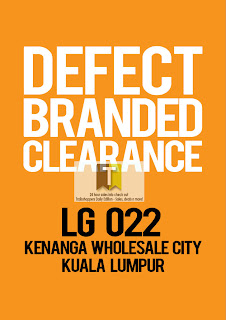 Defect Branded Clearance Sale 2012