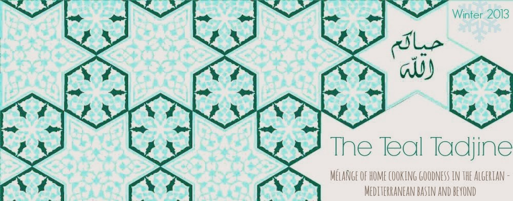 The Teal Tadjine  |  A Mélange of Cooking and Culture in the Algerian Mediterranean Basin and Beyond