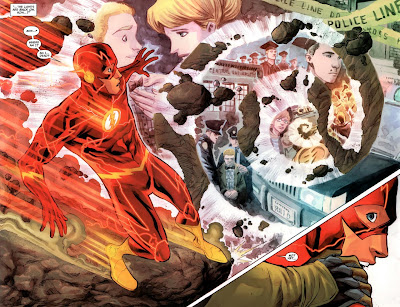 The Flash #7 by Francis Manapul (S)(A) & Brian Buccellato (S)
