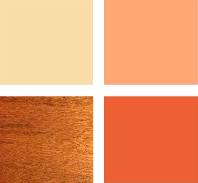 Hogares frescos paletas agradables 8 esquemas de colores - Paleta de colores para paredes ...