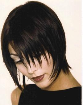 Виды стрижек на средние волосы стрижка каприз