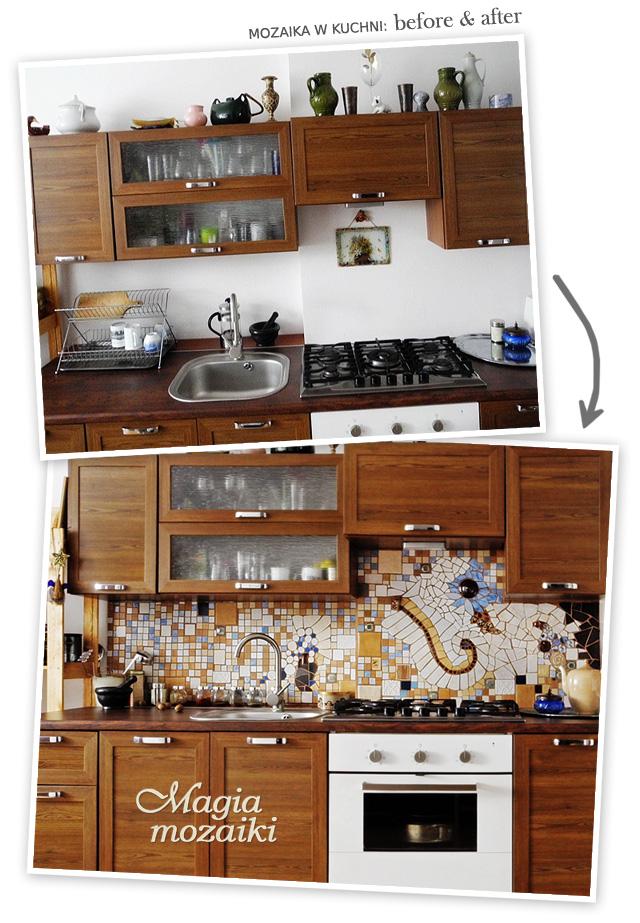Mozaika ścienna kuchenna