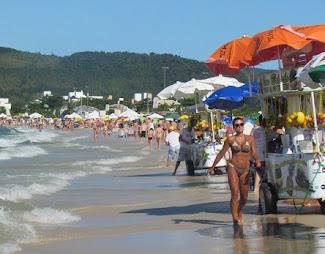 Playa Jureré en Florianópolis