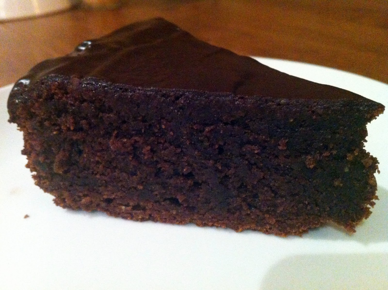 Gluten Free Chocolate Cake with Chocolate Glaze