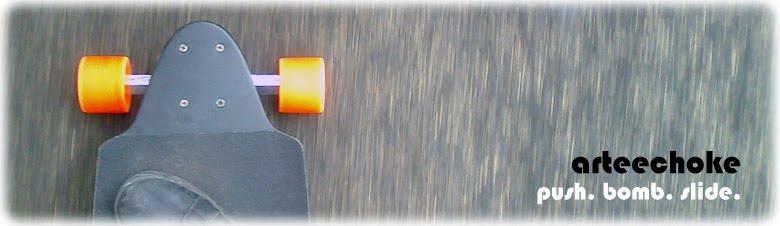 Arteechoke: Push. Bomb. Slide