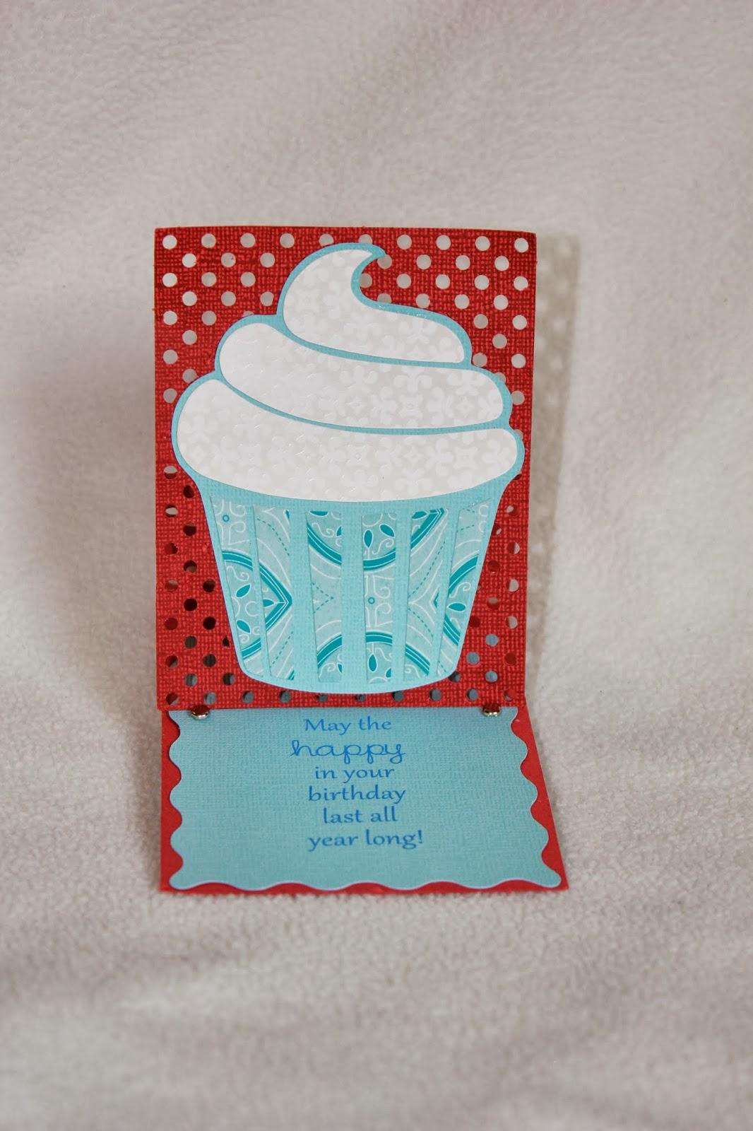 Coupon Sahm I Am Cupcake Card Easel Back Card