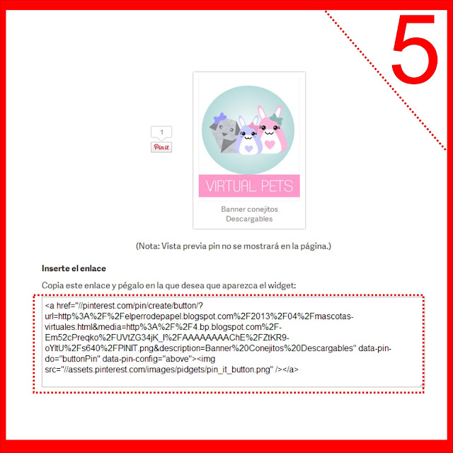 configurar botón pinterest para las imágenes de blogger
