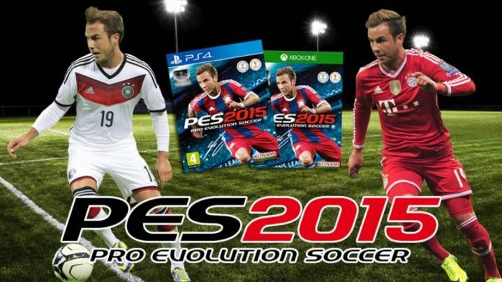 game pes 2015 dirilis