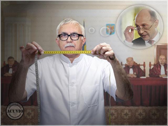 Funny photo Augustin Zegrean Traian Băsescu Referendum