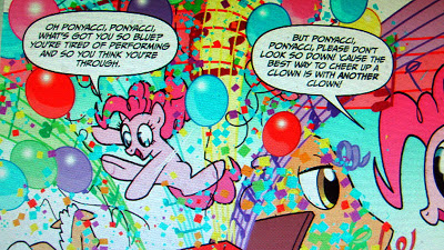 Pinkie Pie's perfectly passionate party piece