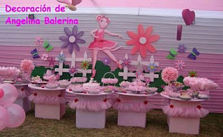 Children Parties, Angelina Ballerina Decoration