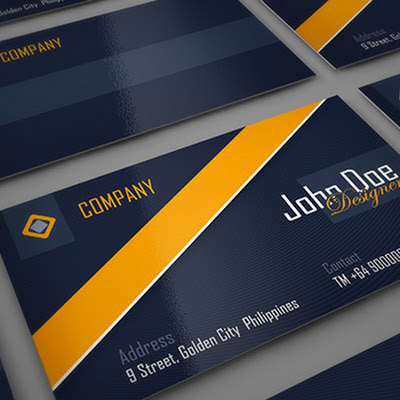 Simple and Professional Business Card mockup