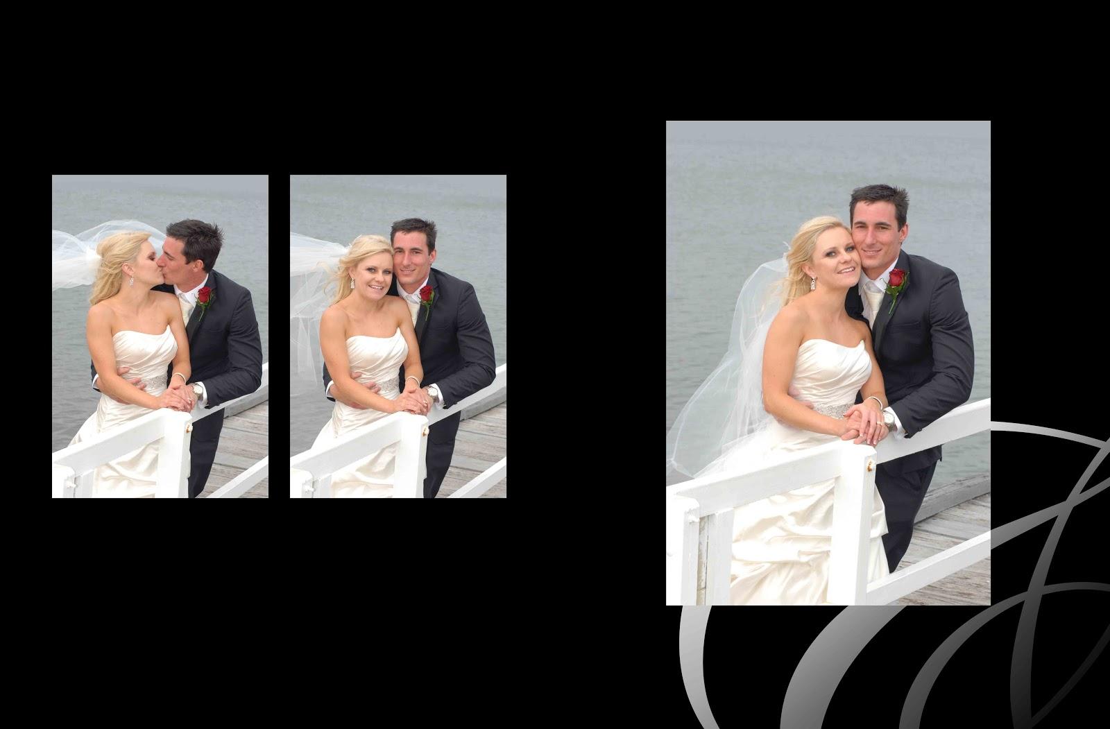 Digital creative projects amy and david 39 s wedding album for Wedding album design