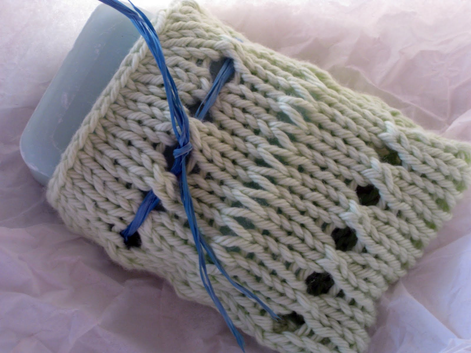 Free Crochet Pattern Soap Bag : golden bird knits: Soap Bag Knitting Pattern