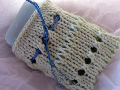 Knit Soap Sack Pattern - - OutboardDecals.com - 1000's of Outboard