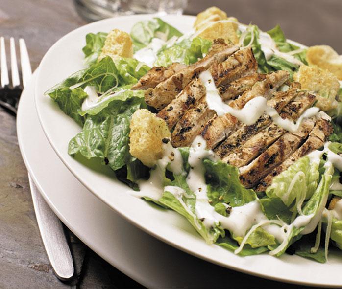 FOOD AND DRINK BLOG: Chicken Caesar Salad