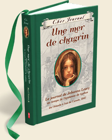 Une mer de chagrin, journal intime fiction irlandaise