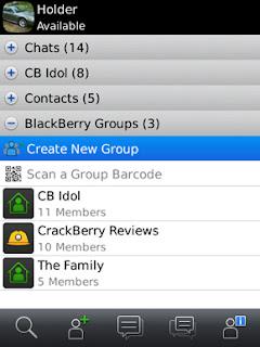 Menghindari Memori Penuh di BBM Groups