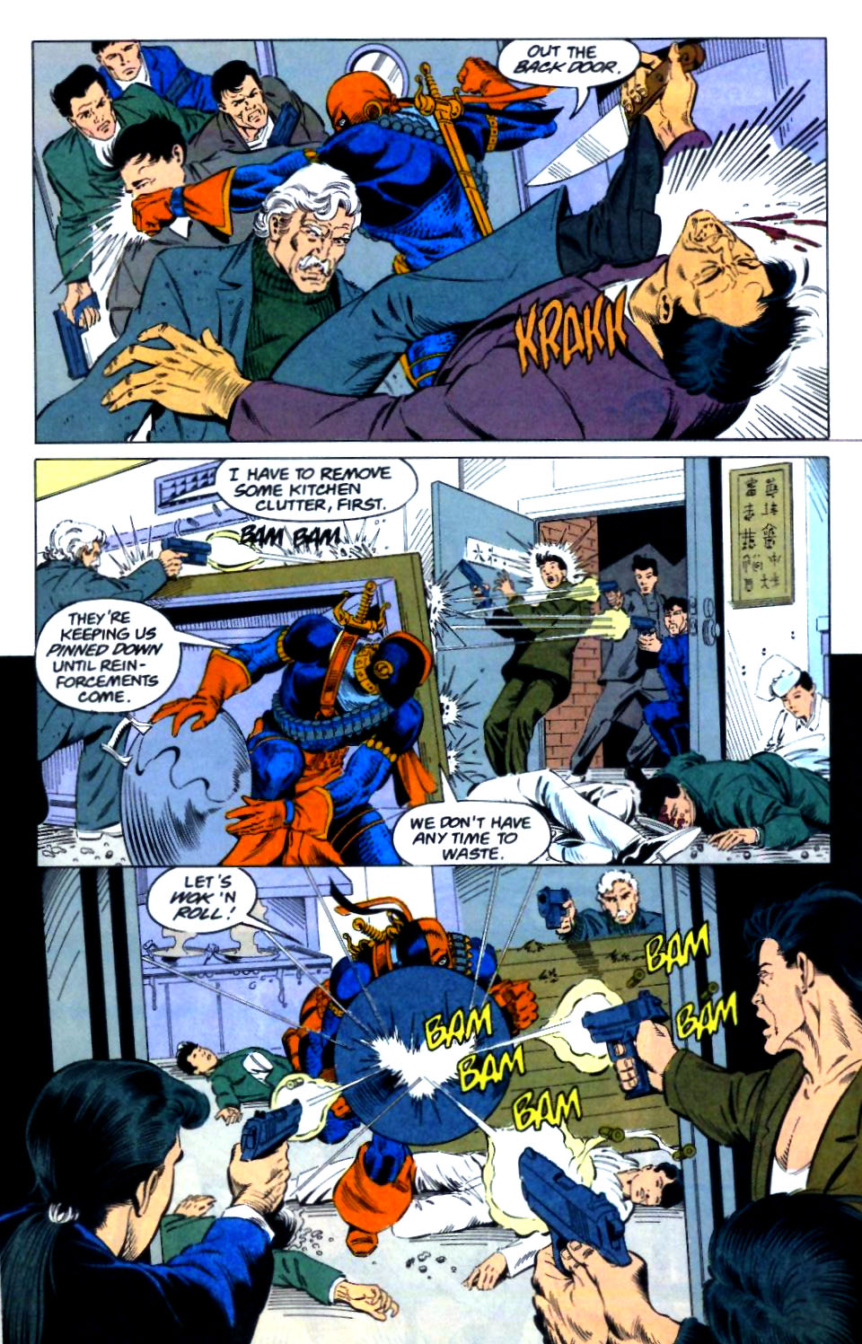 Deathstroke (1991) Issue #29 #34 - English 11