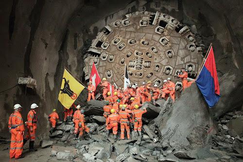 Tuneladora do túnel de São Gotardo