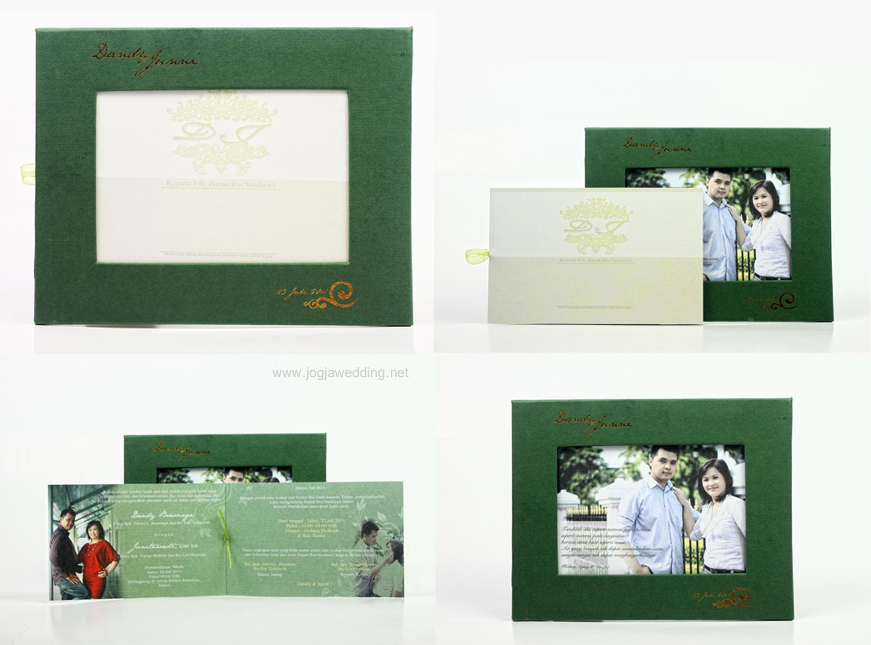 Undangan Frame Foto Eksklusif, Dandy-Junni, Klaten, JawaTengah.