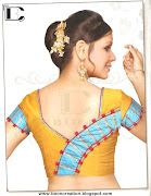 The Latest Blouse Back Neck Design