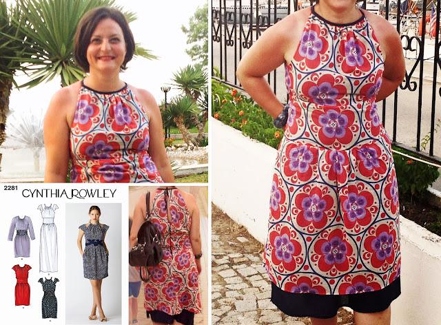 Cynthia Rowley tasarımı yazlık elbise
