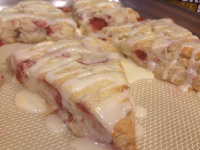 Live... Bake... Love...: Fresh Strawberry & Meyer Lemon ...