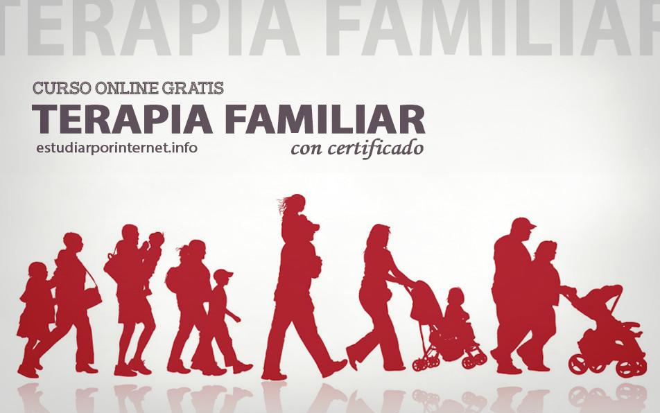 Curso online gratis de Terapia Familiar (con certificado) - Estudiar ...