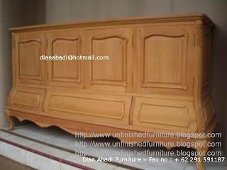 klasik furniture bufet solid mahoni bufet klasik mahoni mentah supplier mebel jepara bufet klasik ukir unfinished mentah mahoni