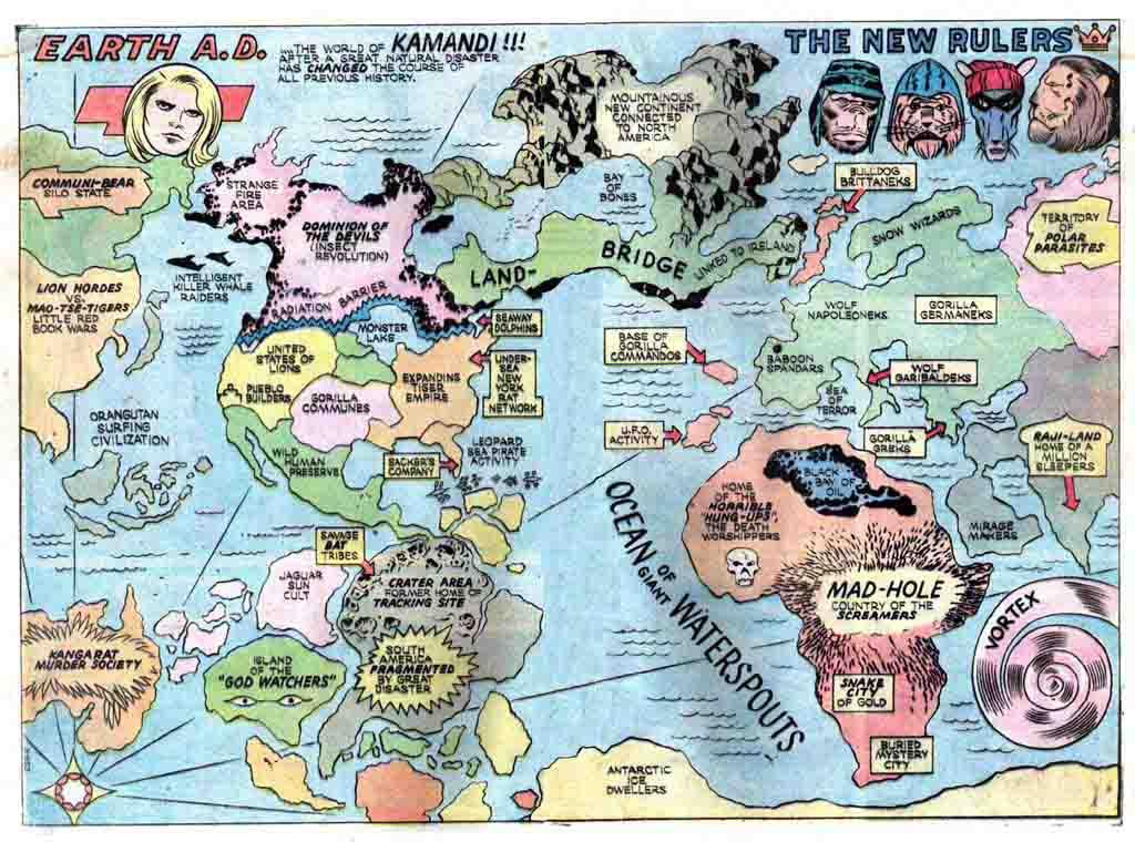 More Maps DC Universe! — Comic Geek Speak