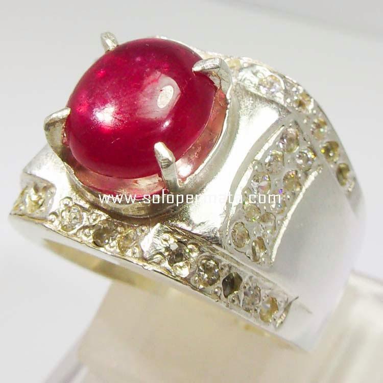 Batu Permata Mirah Delima Ruby - 06B10