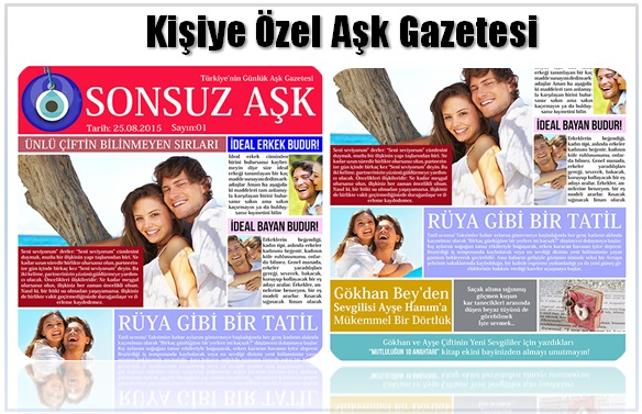 aşk gazetesi