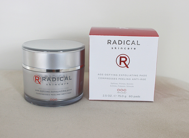 Radical Skincare Age Defying Exfoliating Pads Review!