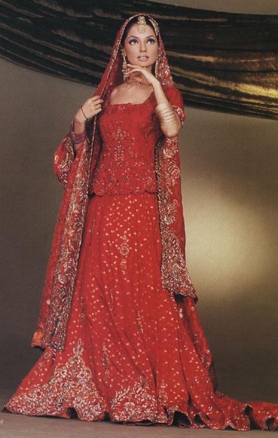 Pakistani Bridal Dresses Pictures