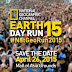NatGeo Earth Day Run 2015 - Singlet and Finisher Shirts, Medal, Race Route, and Gun Starts