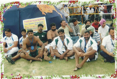Pakistani Kabaddi players in Indian Ground