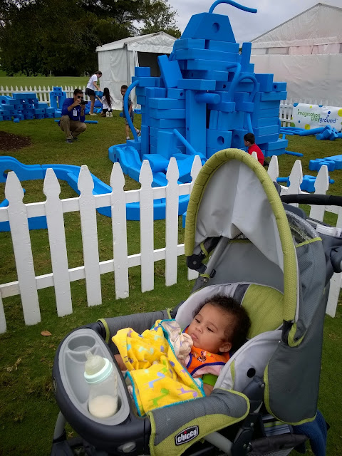 Dr. J the Baby wants Imagination Playground