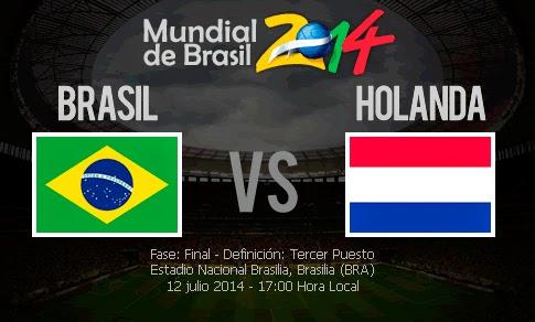 Brasil vs Holanda en VIVO