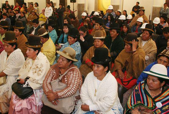 Intolerancia en Bolivia