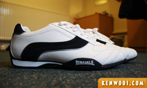 lonsdale shoes side