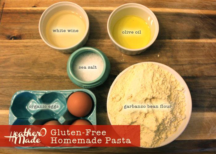 gluten-free homemade pasta recipe